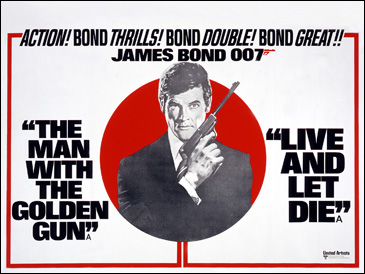 The Man With The Golden Gun/Live And Let Die double-bill 1975 release
