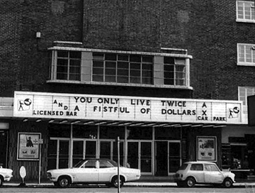 You Only Live Twice/A Fistful of Dollars - Odeon Bournemouth 1971