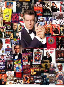 007 MAGAZINE James Bond Montage - The 1990s Pierce Brosnan