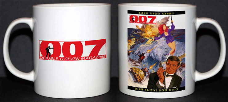 007 MAGAZINE Limited Edition mug #001
