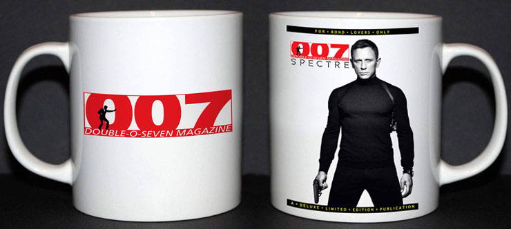 007 MAGAZINE Limited Edition mug #002