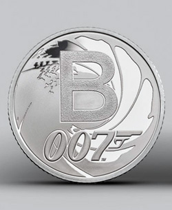 Special James Bond collectors coins released