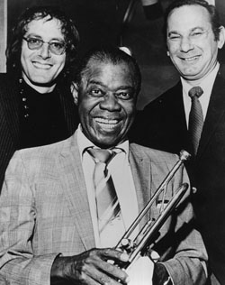 John Barry with Louis Armstrong and Hal David