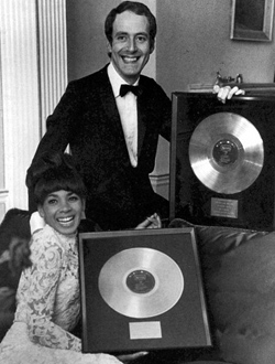 Shirley Bassey and James Bond composer John Barry