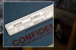 Props created for James Bond