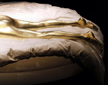 The iconic 'golden girl' from the 1964 James Bond classic Goldfinger (1964)