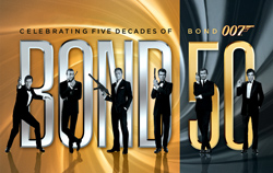 BOND 50: Celebrating five decades of James Bond 007