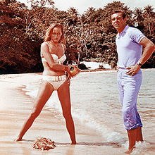 Dr. No is one of five James Bond films being screened at the 65th Cannes Film Festival
