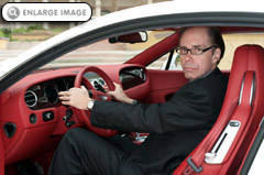Jeffery Deaver - Bentley Continental GT James Bond's car of choice in CARTE BLANCHE