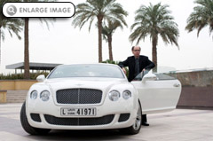 Bentley Continental GT - the new James Bond car in CARTE BLANCHE
