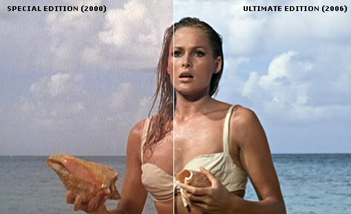 Dr. No (1962) Special/Ultimate Edition DVD Comparison