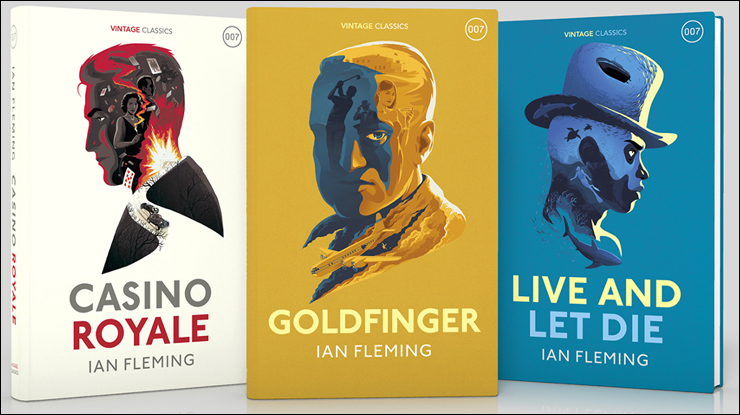 Ian Fleming Publications have announced that Vintage UK will be publishing hardback editions of CASINO ROYALE, LIVE AND LET DIE and GOLDFINGER this autumn.
