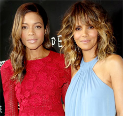 Naomie Harris and Halle Berry