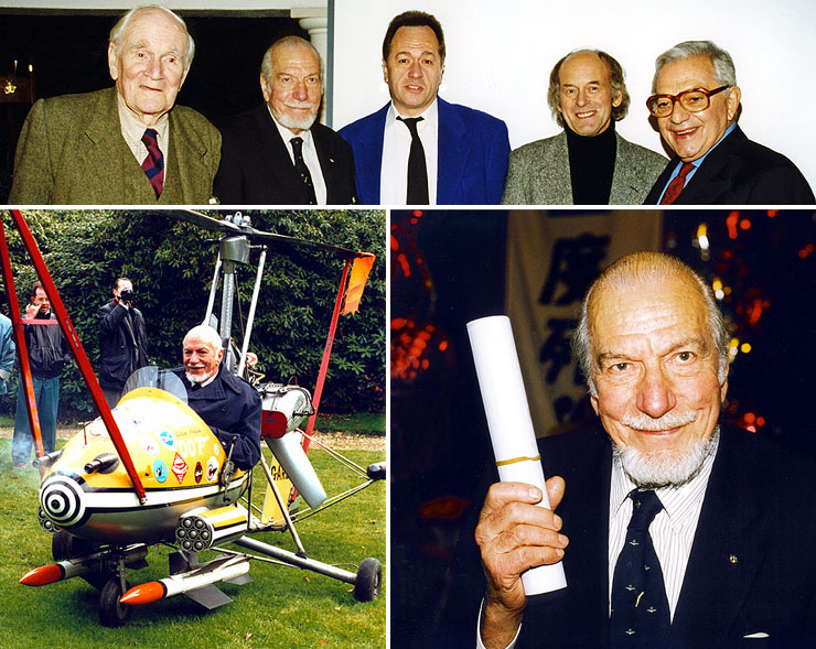 Wing Commander Ken Wallis (1916-2013) at 007 MAGAZINE organised events