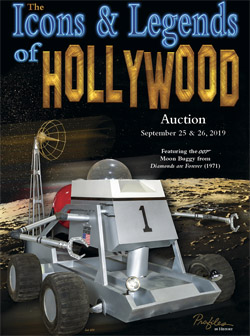 Diamonds Are Forever Moon Buggy up for auction