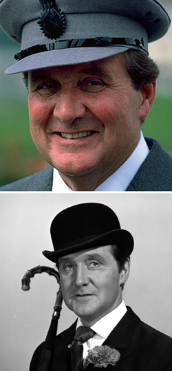 Patrick Macnee (1922-2015) Sir Godfrey Tibbett/John Steed in The Avengers