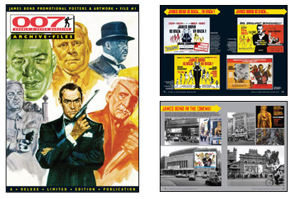 007 MAGAZINE ARCHIVE FILES - Double-bill posters