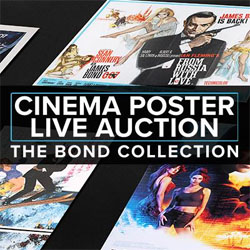 The largest ever collection of James Bond posters up for auction