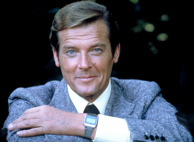 Roger Moore in Moonraker (1979)