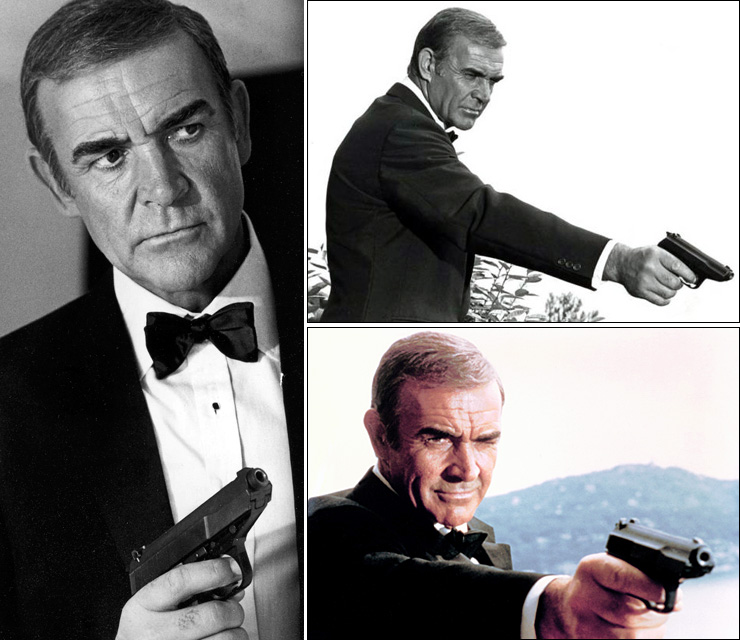 Sean Connery as James Bond in Never Say Never Again (1983)