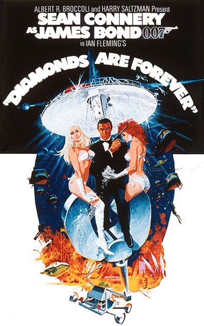 007 Magazine Diamonds Are Forever Moon Buggy