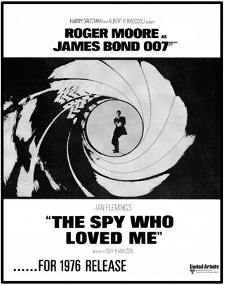 Trade advertisement for The Spy Who Loved Me 1975